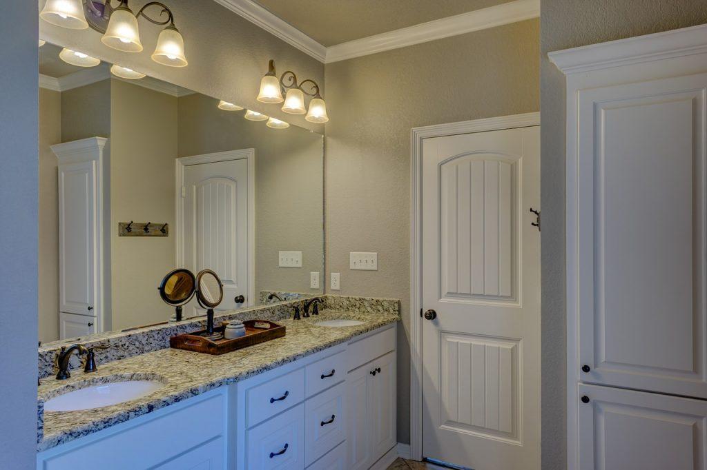 fronty do szafek łazienkowych białe